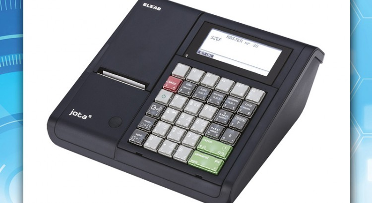 Elzab Jota E - instalacja kasy fiskalnej