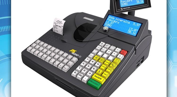 Kasa fiskalna Novitus PS4000 E