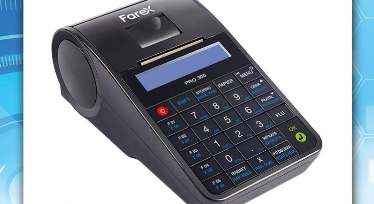 Mobilna kasa fiskalna online Farex Pro 300